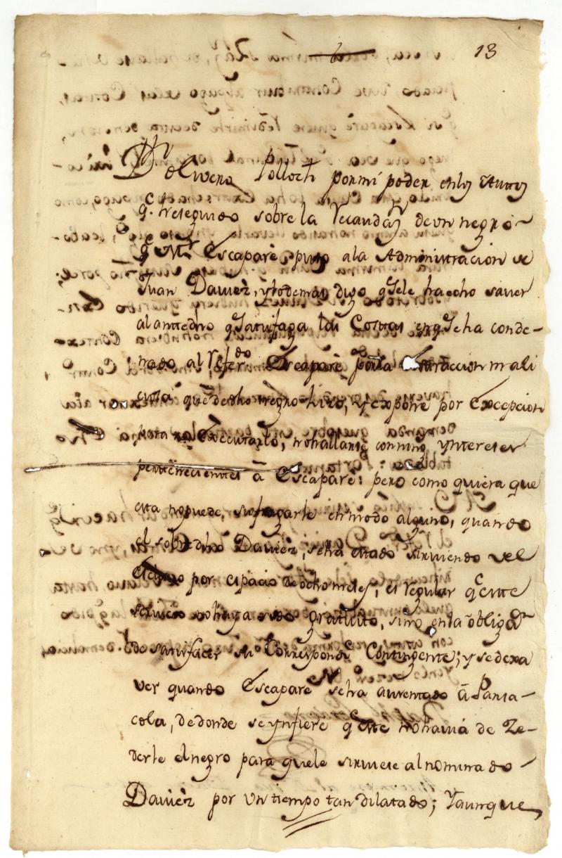 Ano Dilatado document # 1780-04-22-01 - louisiana colonial documents